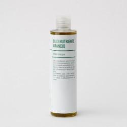 Olio nutriente corpo arancio
